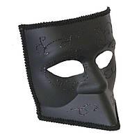 Венецианская маска Баута (черная)