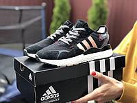 Женские кроссовки Adidas Nite Jogger Boost 3M.Стильные женские кроссовки., фото 1