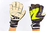 Перчатки вратарские FB-812 REUSCH (PVC, р-р 8-10, цвета в ассортименте)