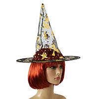 Шляпа Колпак капроновая (черная с золотом)