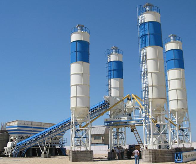 Стационарный бетонный завод Pi Makina 120 BTS