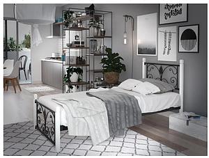 Кровать металлическая - Крокус мини.