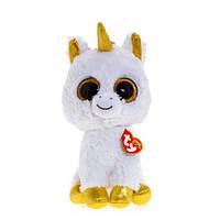 "TY Beanie Boo's Белый единорог ""Pegasus"" 25см"