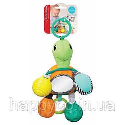 "INFANTINO Навесная игрушка с зеркалом ""Черепашка"""
