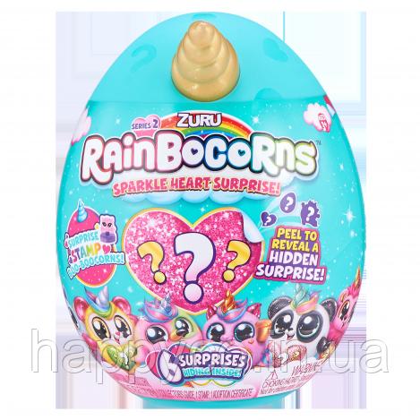 Мягкая игрушка-сюрприз Rainbocorn-D (серия Sparkle Heart Surprise 2)