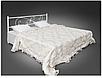 Кровать металлическая - Хризантема, фото 2