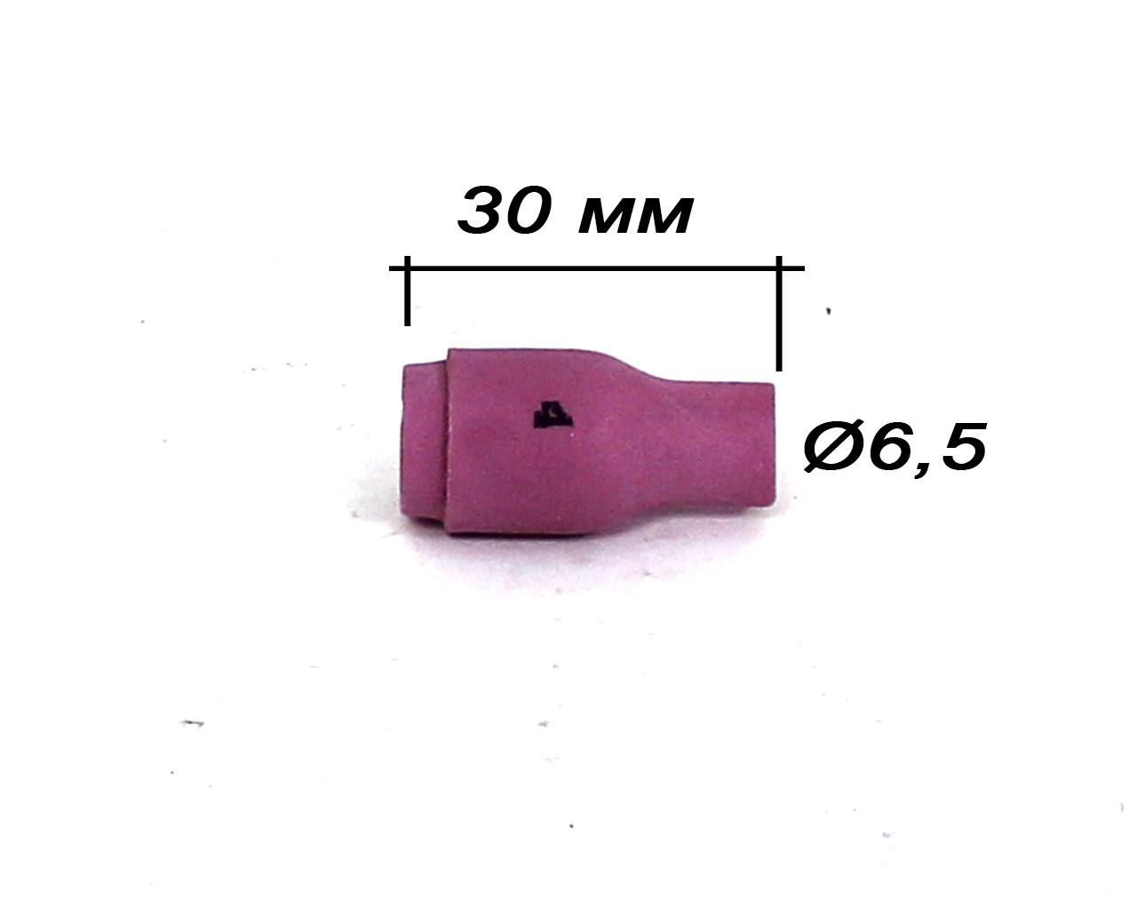 Сопло для TIG-горелки WP-9/20 короткое №4 (13N08)
