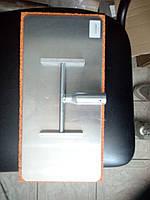 Алюминиевая  тёрка резиновой губкой 200x400 мм