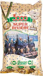 Прикормка Sensas 3000 Super River Сarp 1kg (200.24.14 10291)