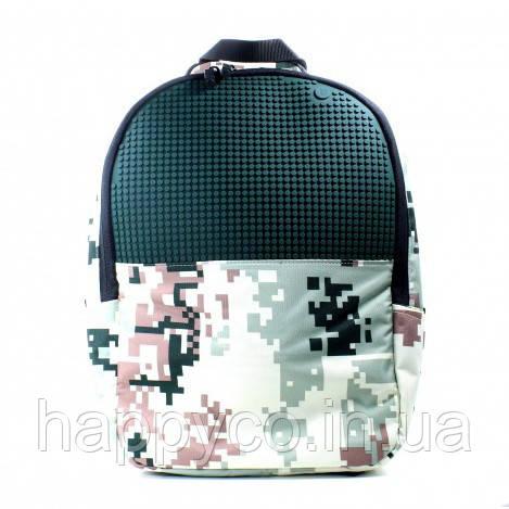 Рюкзак Upixel Camouflage-Зелено-коричневый