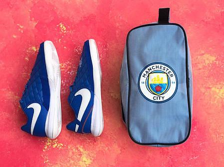 Сумка Спортивная для обуви FC Manchester Сity/сумка для футболиста/Манчестер Сити, фото 2