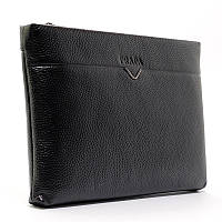 Клатч мужской чехол для планшета электронной книги на запястье черный Prada, фото 1