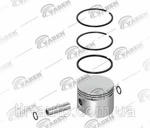 Поршень компрессора с кольцами WABCO, DAF ( Ø 75.50 mm ) ( VADEN ) 7000753102-VDN