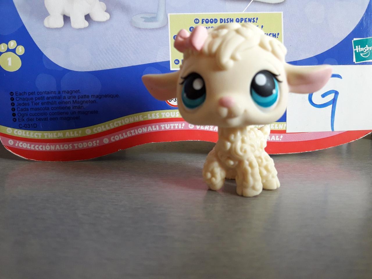 Lps littlest pet shop стоячки - лпс # 186 lamb Hasbro стара колекція - ягня