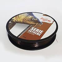 Леска для карповой ловли 0,28mm, 10,30kg, Serie Extreme Carp line (коричневая) 250m