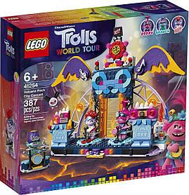 Lego Trolls World Tour Концерт в городе Рок-на-Вулкане (41254)