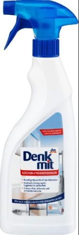 Denkmit Kuchen-Hygienereiniger – гигиеническое средство для уборки, 750 мл.