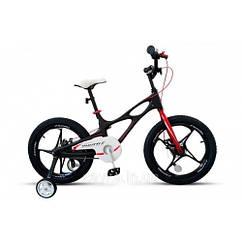 Детский двухколесный велосипед Royal Baby Space Shuttle 18-22 колеса 18 дюймов рама магний черный