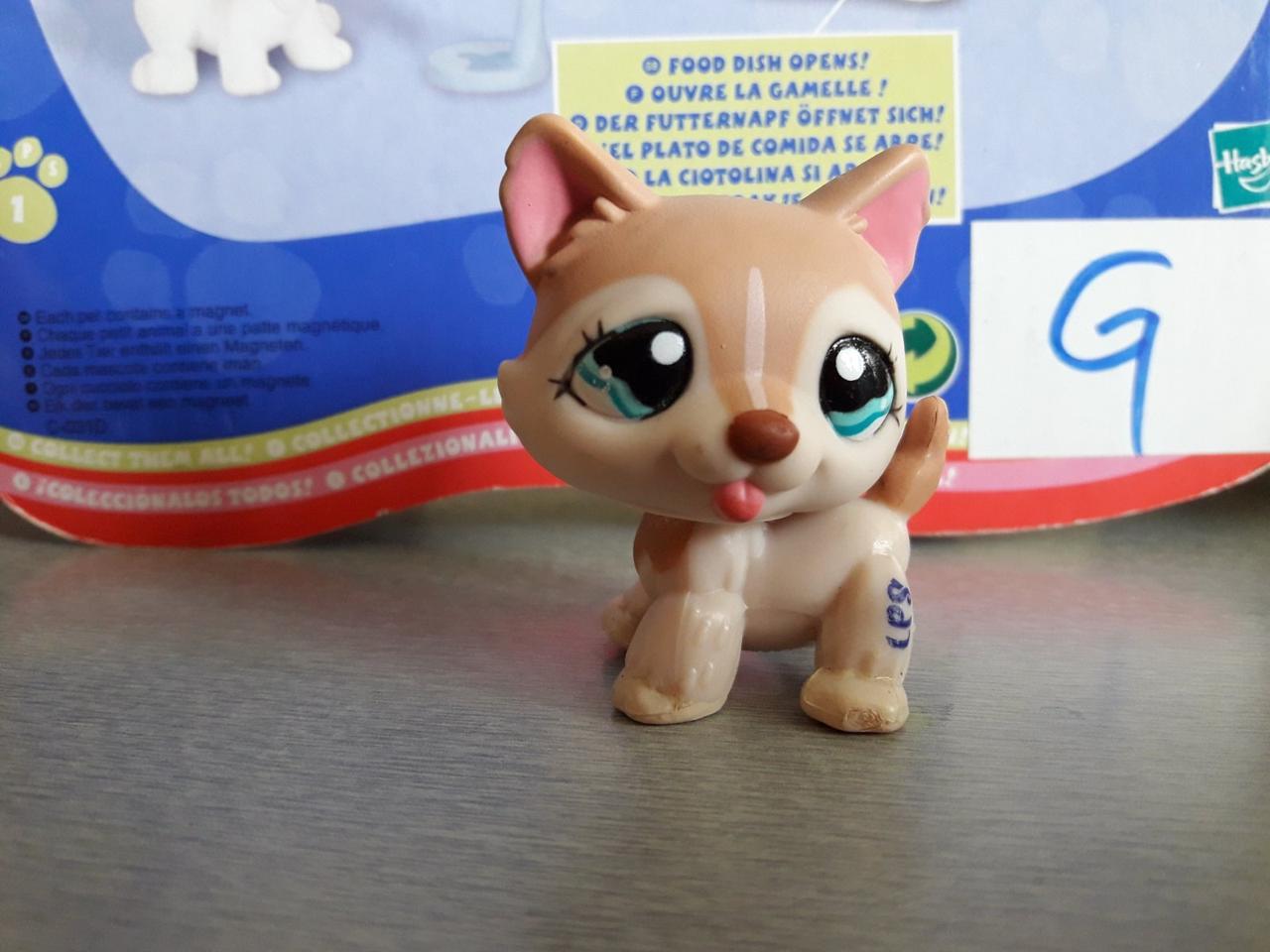 Lps littlest pet shop стоячки - лпс Хаски #1012 Hasbro старая коллекция