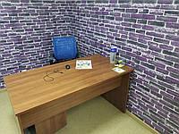 Декор стен и 3D панели самоклейки под фиолетовый екатеринославский кирпич