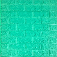 Декоративные 3 д панели для стен под мятный кирпич
