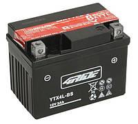 Аккумулятор мото 4RIDE 12V 3Ah 35A YTX4L-BS  [114x71x86], фото 1