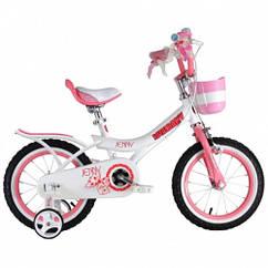 Детский двухколесный велосипед Royal Baby Jenny Girls RB12G-4 колеса 12 дюймов рама сталь розовый