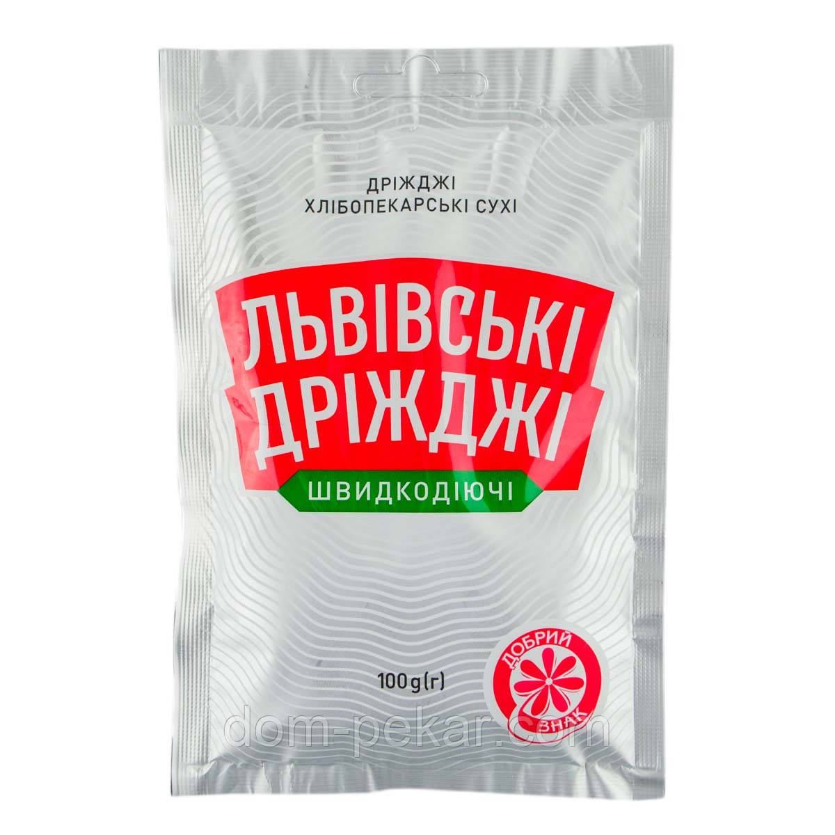 Дрожжи сухие (Львовские 100 гр)