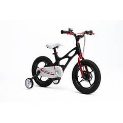 Детский двухколесный велосипед Royal Baby Space Shuttle RB14-22 колеса 14 дюймов рама магний черный