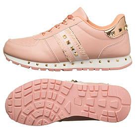 Кроссовки женские Cool pink-gold 37