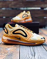 Кроссовки мужские Nike Air Max 720 Yellow / Найк Аир Макс 720 желтые