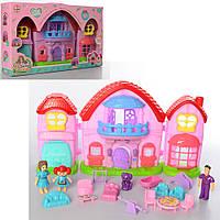 Іграшковий будиночок Little Love звук, світло, меблі, фігурки
