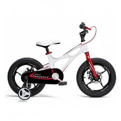 Детский двухколесный велосипед Royal Baby Space Shuttle RB14-22 колеса 14 дюймов рама магний белый