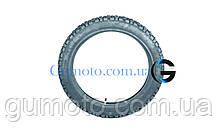 Покрышка на мопед 2.75-17 шип 6 PR камерная Дельта / Альфа SRC Вьетнам, фото 2