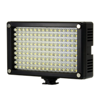 Cветодиодный накамерный видео свет Lishuai (Оригинал) LED-144AS (Би-светодиодная) + комплект (LED-144AS)