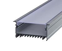 Алюминиевый LED Профиль 85,4x32,5мм ЛСВ-70 + Рассеиватель