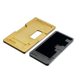 Комплект форм (из металла и пористой резины) для Apple iPhone XS Max для отцентровки дисплея в рамке