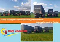 Завод Кобзаренка експортував до Німеччини здвижні причепи Атлант