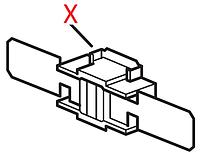 """5232105000 Термостат(прямокутний, з короткою різьбою), t=318""""С, DeLonghi"""