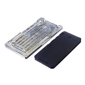 Комплект форм (из металла и пористой резины) для iPhone XR для отцентровки дисплея в рамке