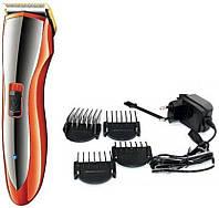 Профессиональная машинка для стрижки волос с насадками Gemei GM-6027