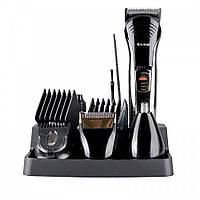 Профессиональная машинка для стрижки волос с насадками Kemei LFQ-KM-590A / триммер для волос