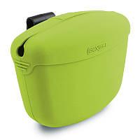 Dexas (Дексес) Pooch Pouch - Контейнер для лакомств с клипсой на пояс для собак Зеленый