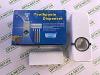 Автоматический дозатор зубной пасты и подставка для зубных щеток