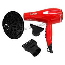 Фен для волос KEMEI 8888KM с диффузером 1800 W