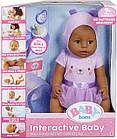 Кукла Zapf Baby Born Бэби Борн девочка кареглазая мулатка оригинал Zapf Creation 916793, фото 6