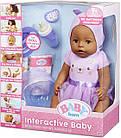 Кукла Zapf Baby Born Бэби Борн девочка кареглазая мулатка оригинал Zapf Creation 916793, фото 5
