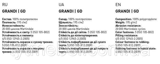 Ткань Grandi