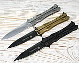 "Нож бабочка ""Шершень"", градиент, MK001-3, фото 4"