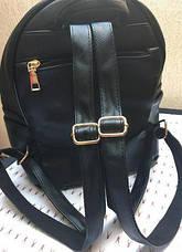 Рюкзак женский черного цвета эко-кожа, качественный, фото 2